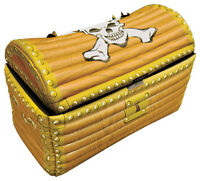 INFLATABLE PIRATE TREASURE CHEST - 64x33x46CM DRINK COOLER