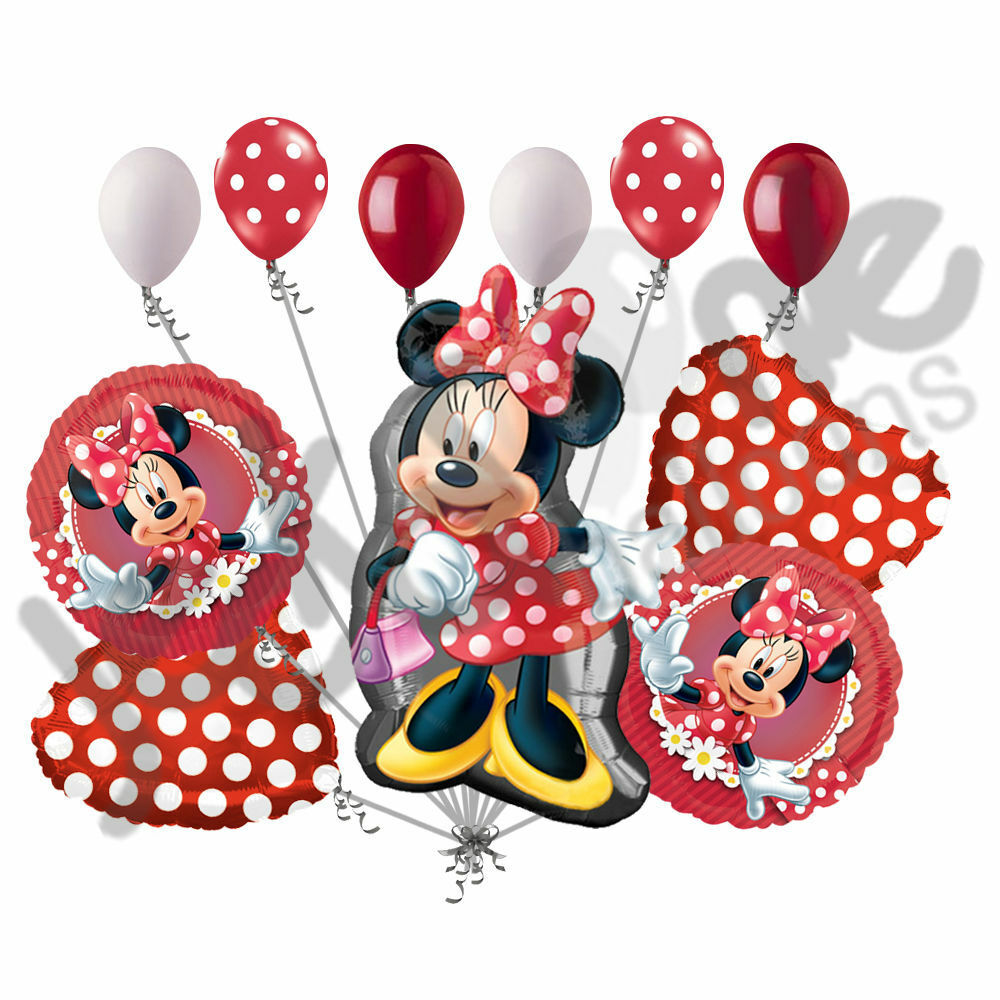 Minnie Mouse Cake Decorations Party Supplies