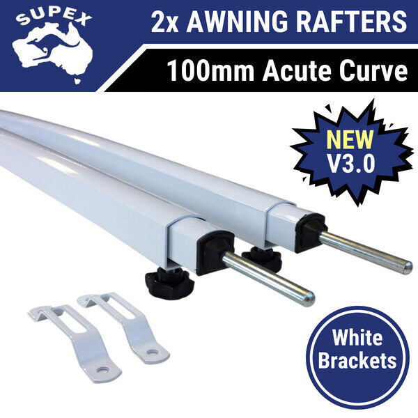 2x Supex 563va Acute Curved Roof Rafter For Roll Out