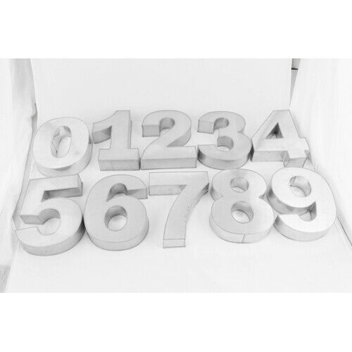 Small Number Cake Tins