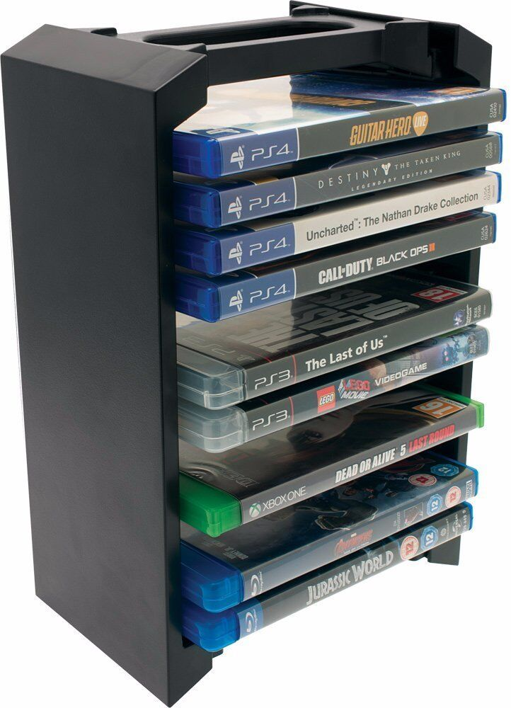 Venom Universal Games Amp Blu Ray Storage Tower For Xbox One