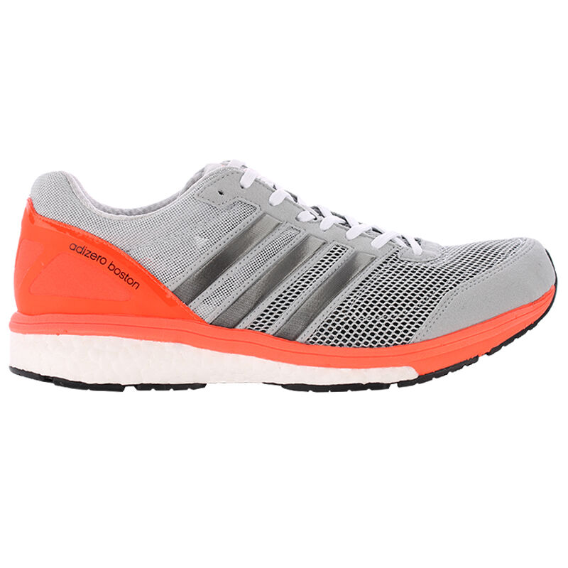 pick up 70173 13d97 Details about New Adidas Adizero Boston Boost 5 m Mens Grey S78211 Size 8.5  Running Shoes