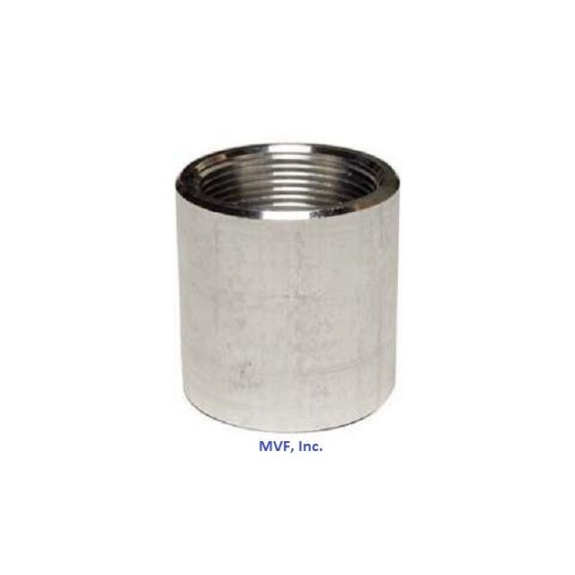 1 2 Quot Npt Threaded Full Coupling Aluminum 6061 T Schedule