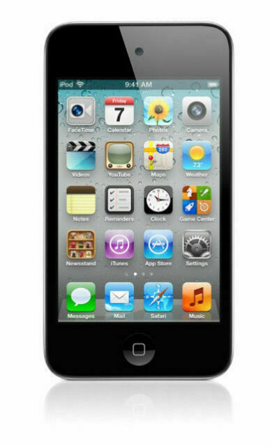 Apple iPod touch 4th Generation Black (32GB) 885909395095 ...