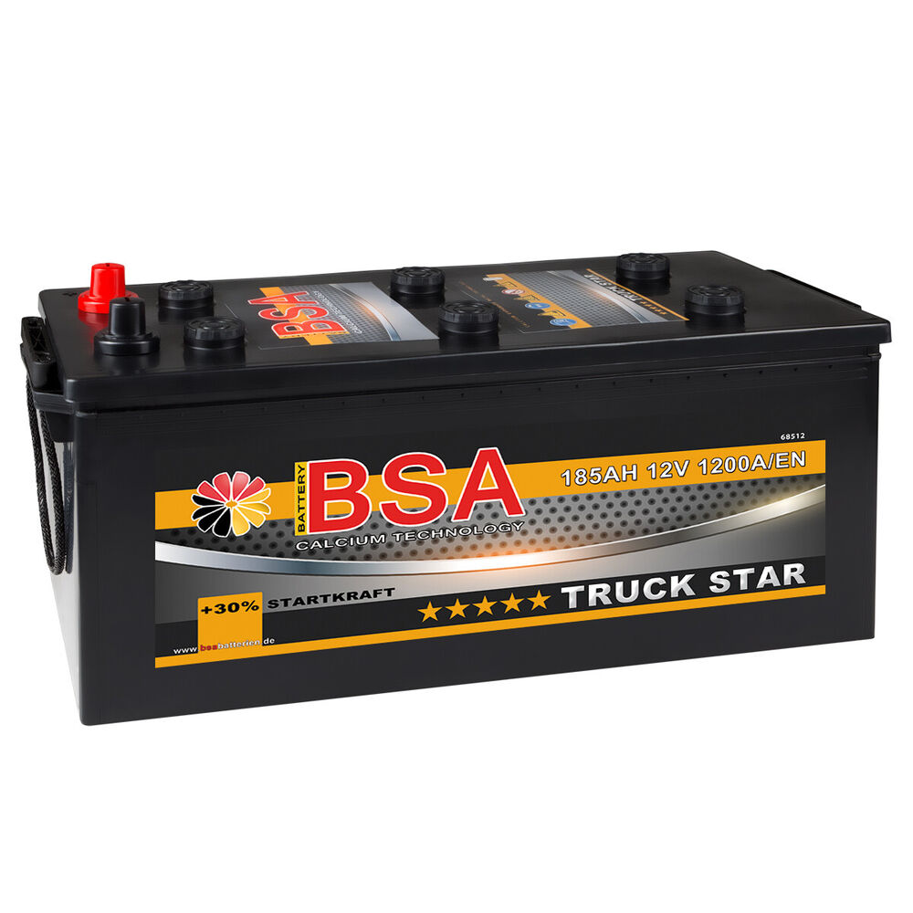 lkw batterie 12v 185ah starterbatterie statt 180ah 170ah. Black Bedroom Furniture Sets. Home Design Ideas