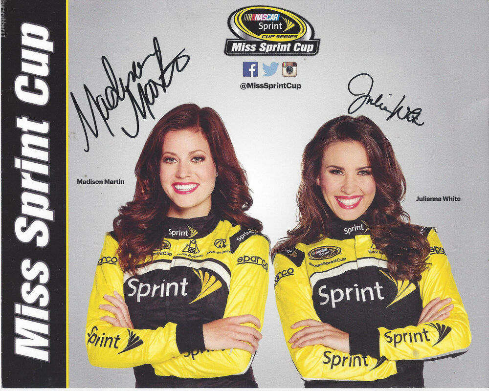 Julianna White further Las Vegas Nv Usa Th Dec Julianna White Kim Coon Madison Martin Ec C in addition Miss Sprint Cup further Nascar Sprint Cup Series Awards R Irnvyrx x besides S L. on julianna white miss sprint cup