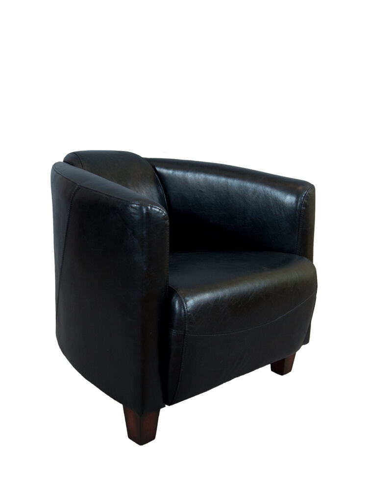 clubsessel rocket belon black schwarz leder ledersessel vintage sessel m bel neu 4111146545372. Black Bedroom Furniture Sets. Home Design Ideas