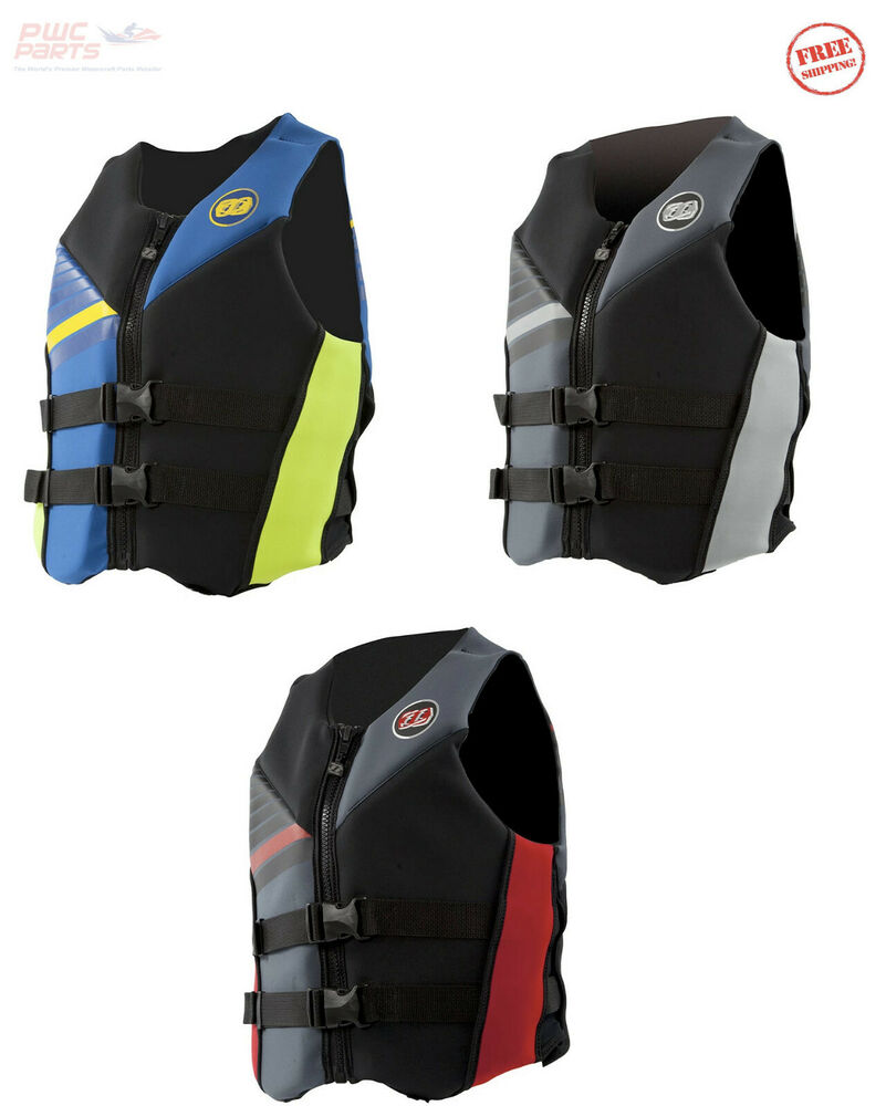 Jet Pilot Cause Uscg Approved Life Vest Jacket Neoprene