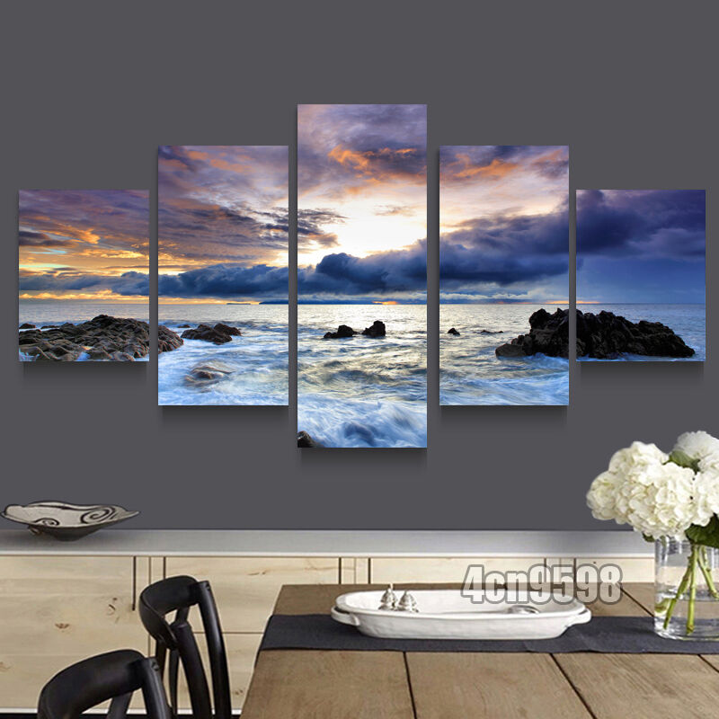 Hd canvas print home decor wall art painting beautiful for Home decoration images hd