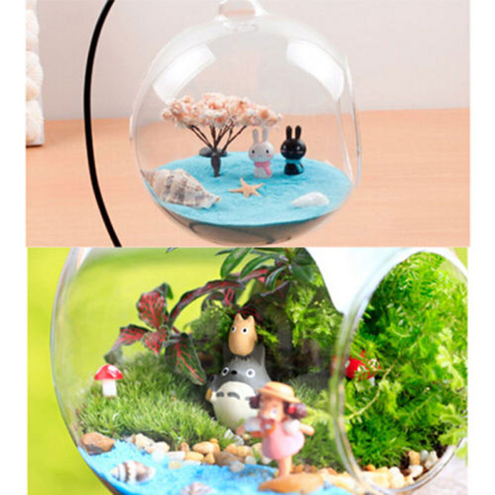 fairy garden miniatures sand terrarium figurines garden decoration potted bonsai ebay. Black Bedroom Furniture Sets. Home Design Ideas