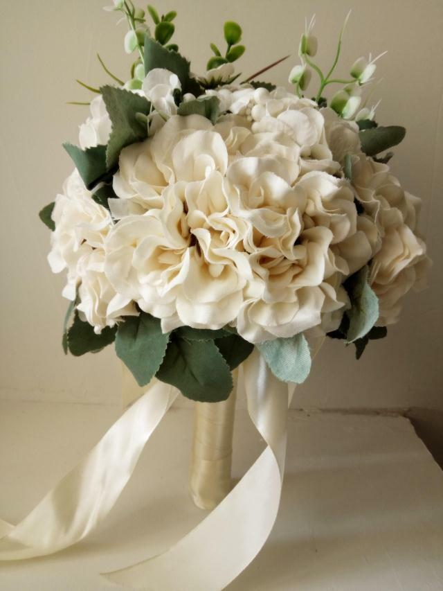 artificial flower bouquets for weddings made to order artificial wedding flower bouquet 1372