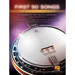 Kyпить First 50 Songs You Should Play on Banjo Sheet Music Banjo Book NEW 000153311 на еВаy.соm