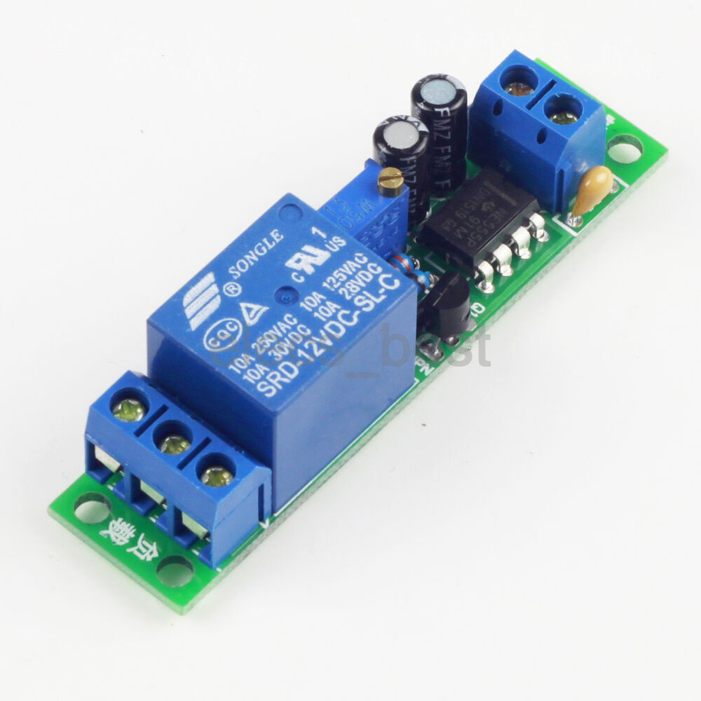 12v Adjustable Time Delay Switch Module Time Off