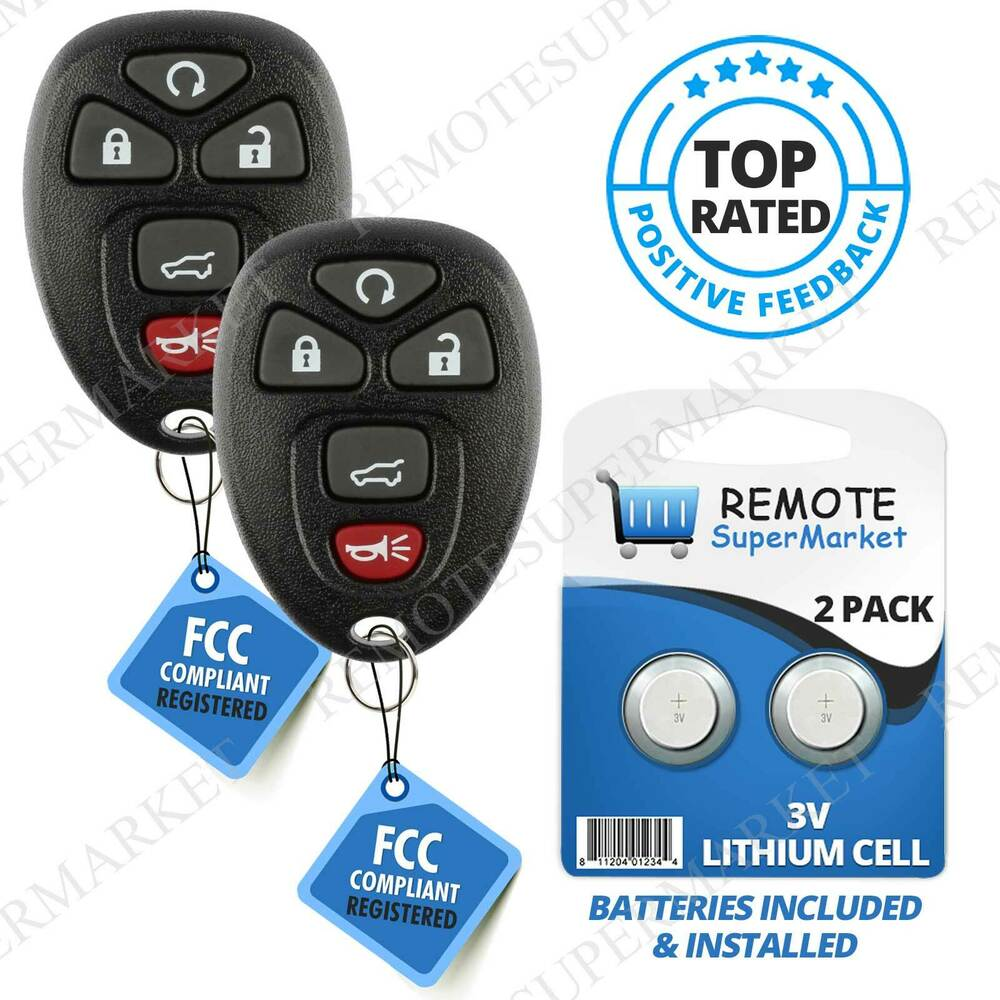 Replacement for Chevy Tahoe Traverse Remote Car Keyless ...