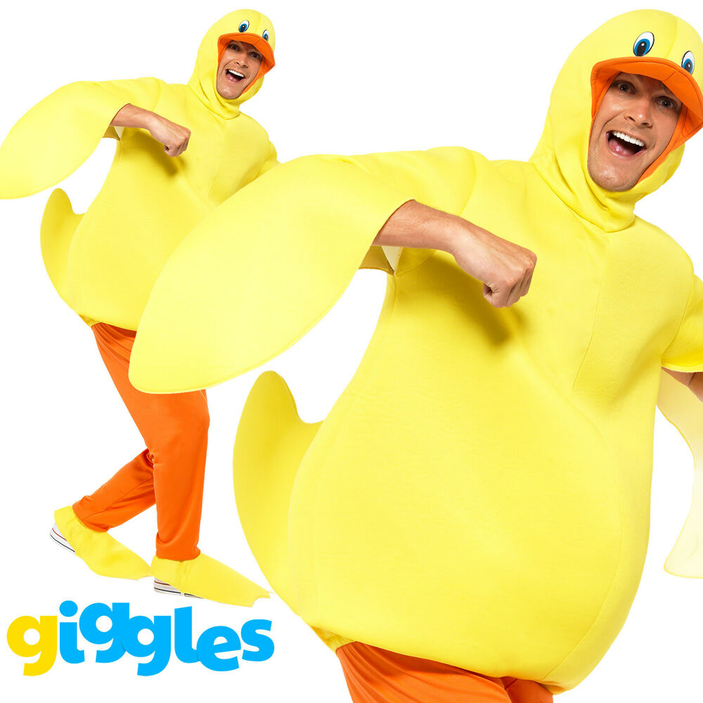 Adult's Duck Costume Teachers World Book Day Week Chicken