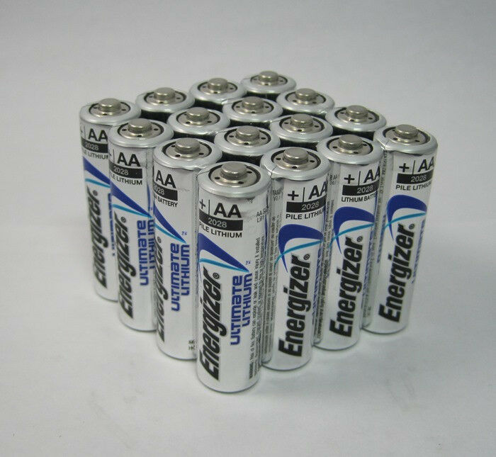 Energizer AA Ultimate Lithium 16 Batteries