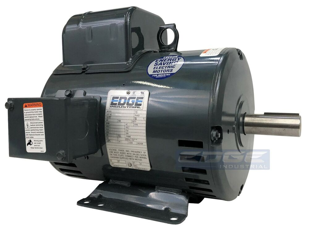 5 Hp Leeson Compressor Duty Electric Motor Replaces 131537