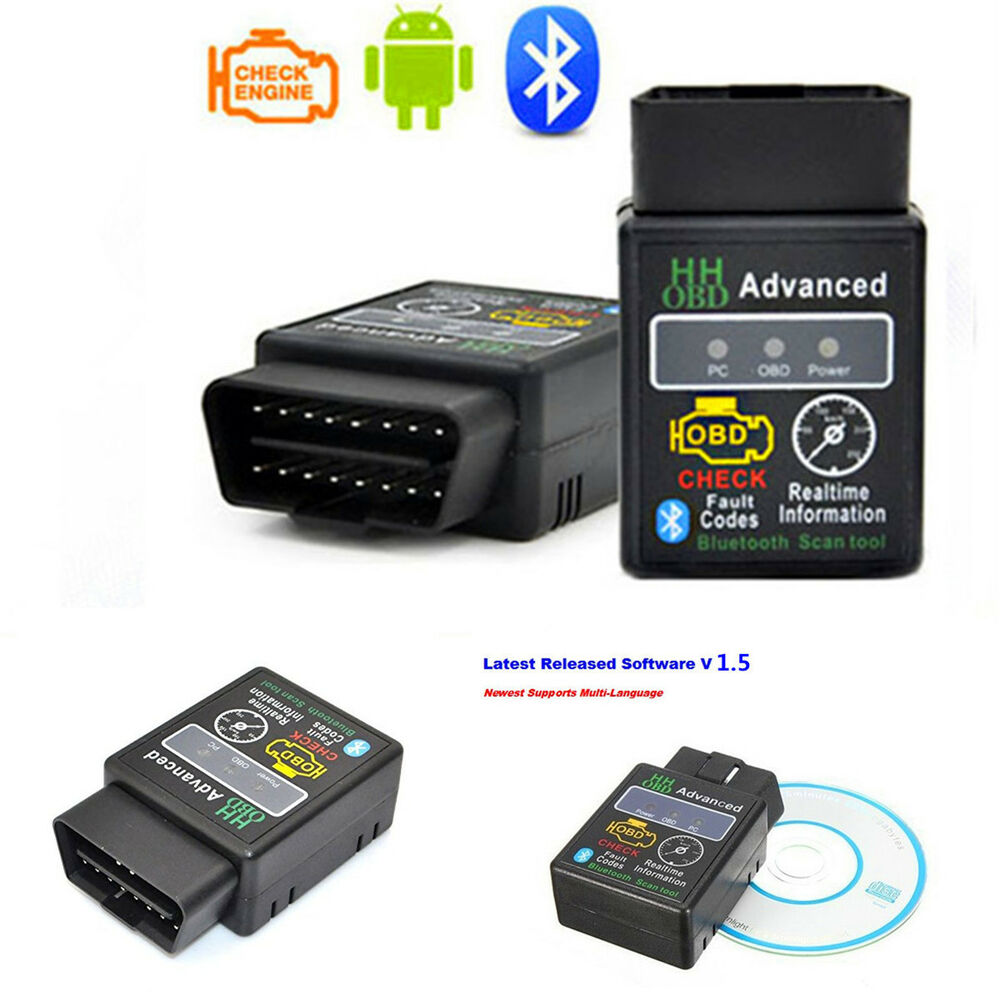 elm327 vehicle hh odb odb2 advanced bluetooth car auto diagnostic scanner tool ebay. Black Bedroom Furniture Sets. Home Design Ideas