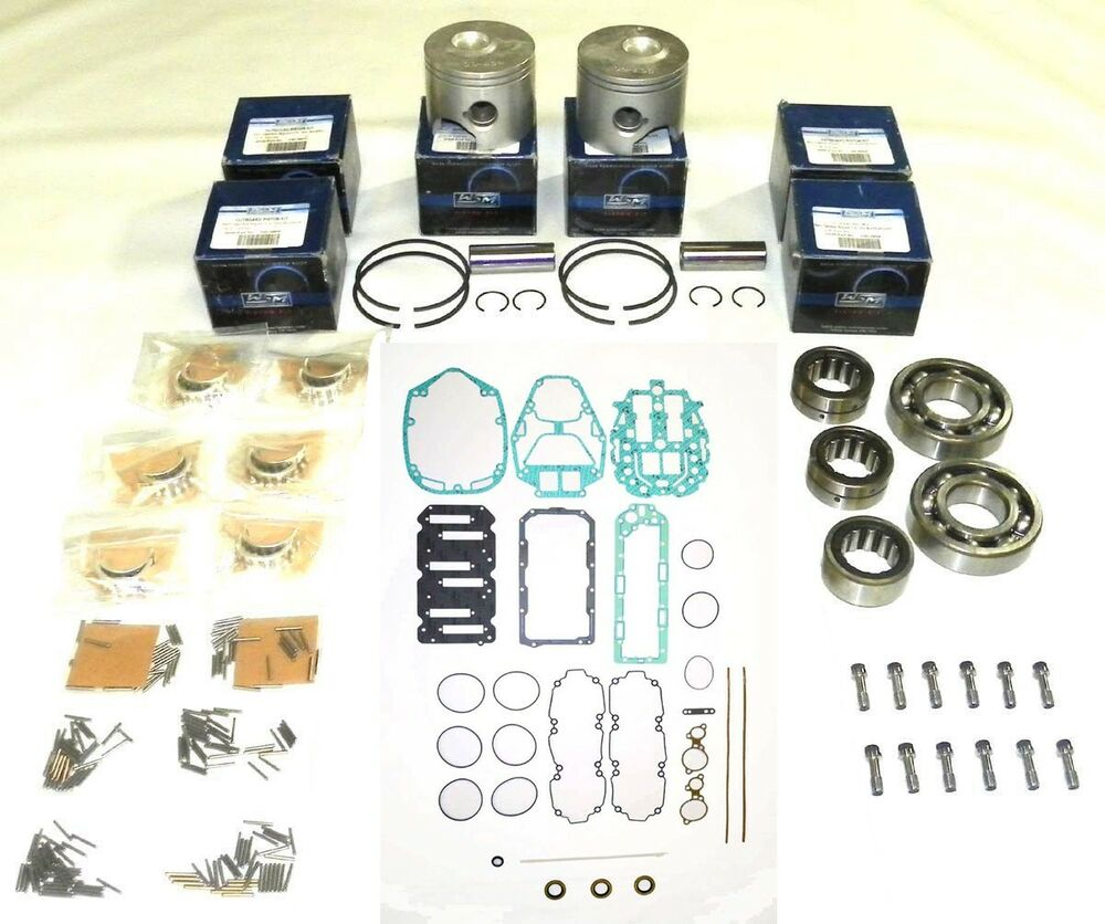 Wsm outboard mercury 135 150 175 hp 2 5l optimax rebuild for Yamaha powerhead rebuild kit