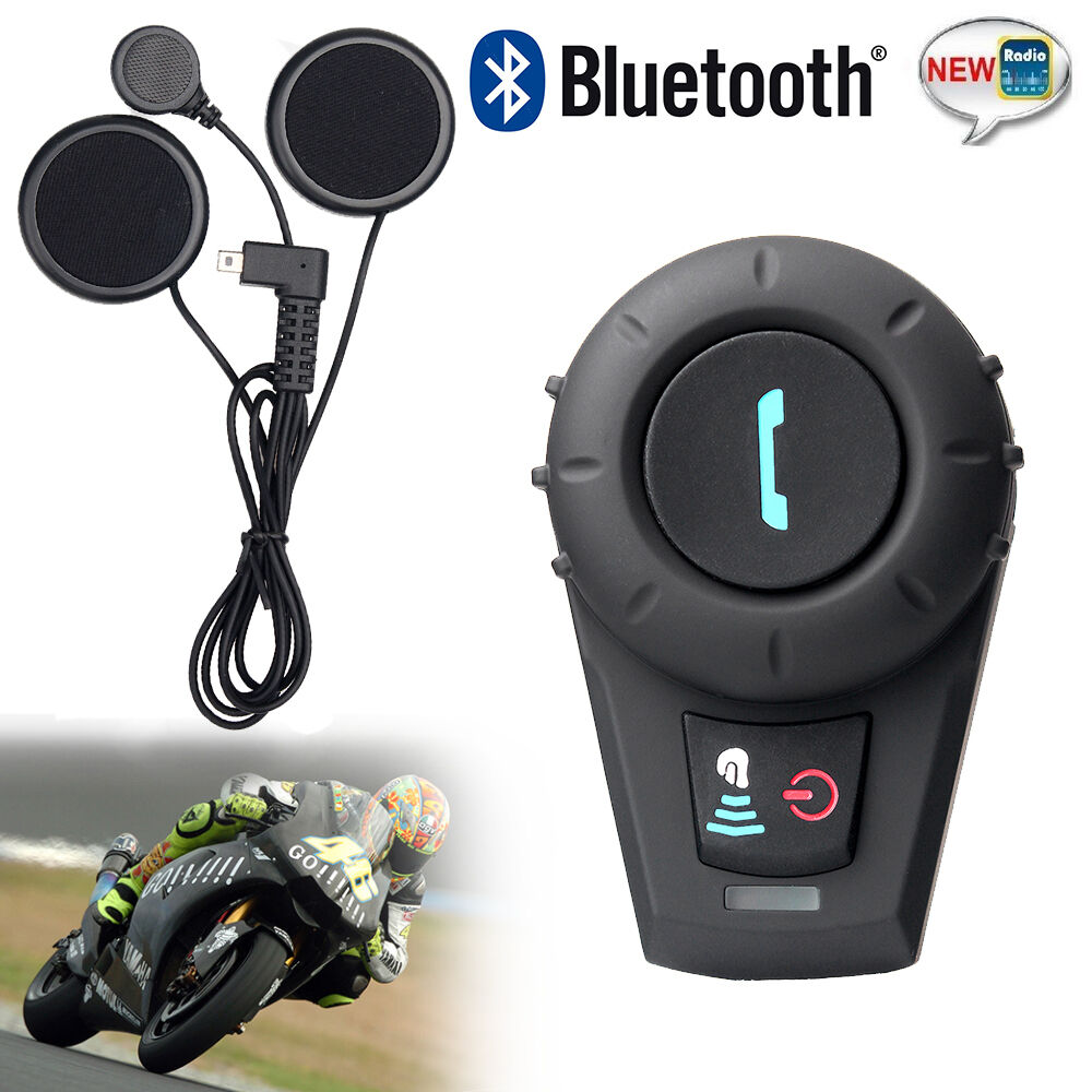 Motorcycle Communication System 500m Bluetooth Interphone