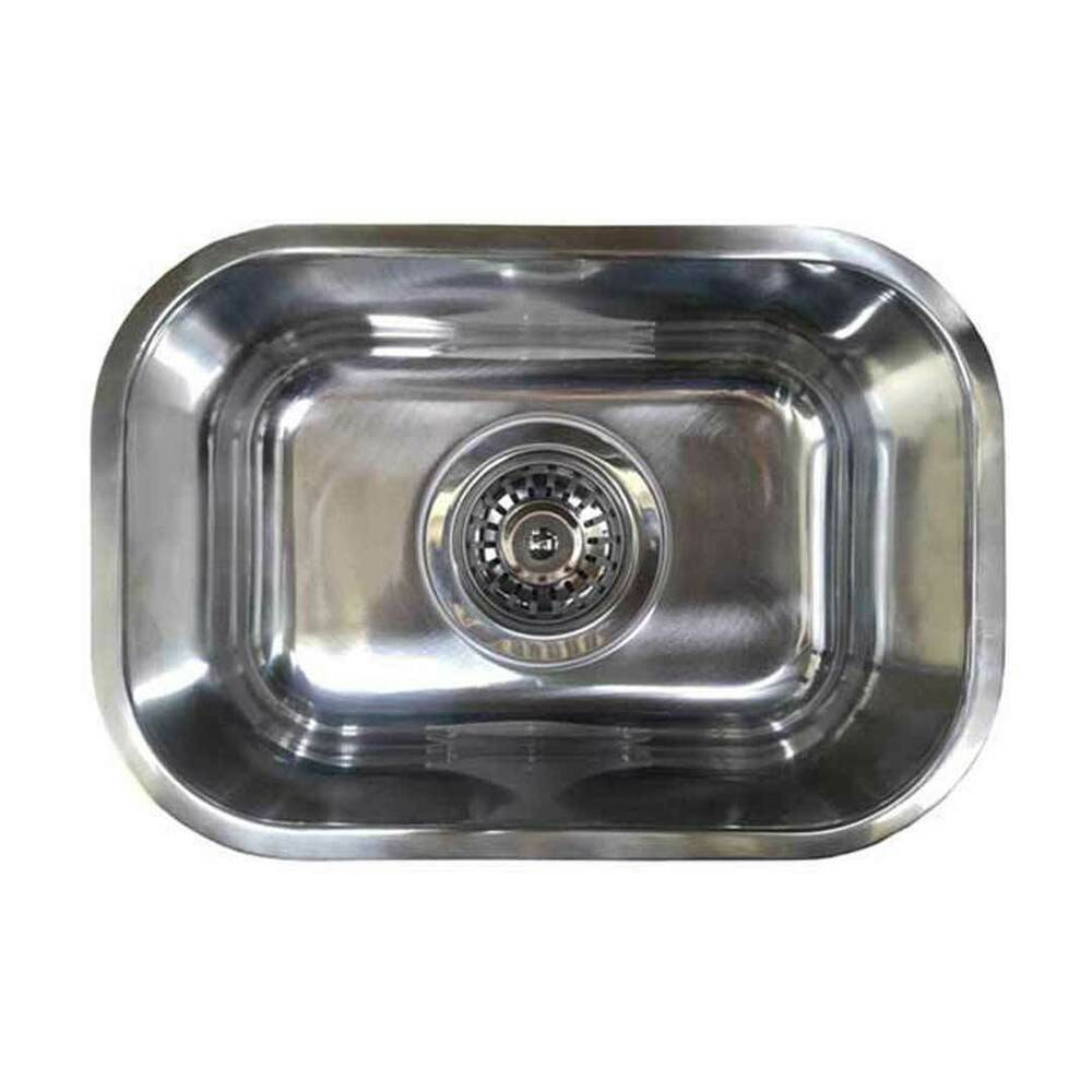 Small Bar Single Bowl Inset Kitchen Sink Cm1 6l Stainless