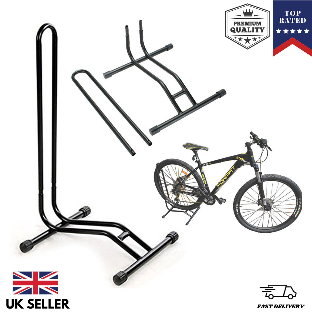 large bike floor storage rack stand for fix cycle bicycle. Black Bedroom Furniture Sets. Home Design Ideas