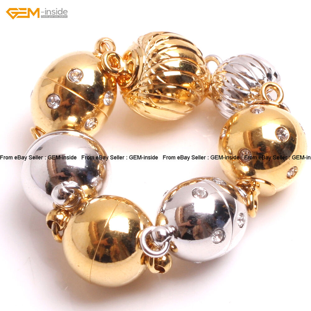 Gem inside14k gold filled jewelry making magnetic clasp for Gold filled jewelry