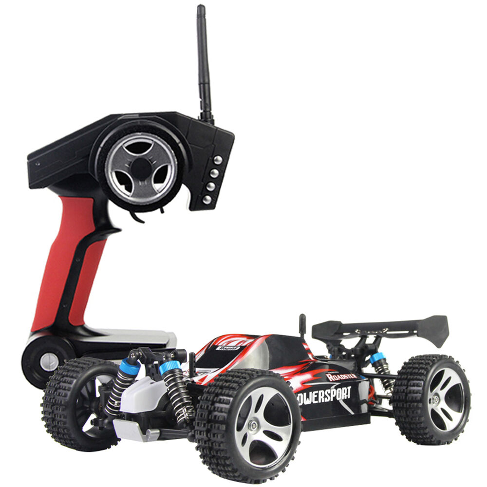 Rc Rc: 1/18 High Speed Scale 2.4G 4WD RTR Off-Road Buggy RC Car