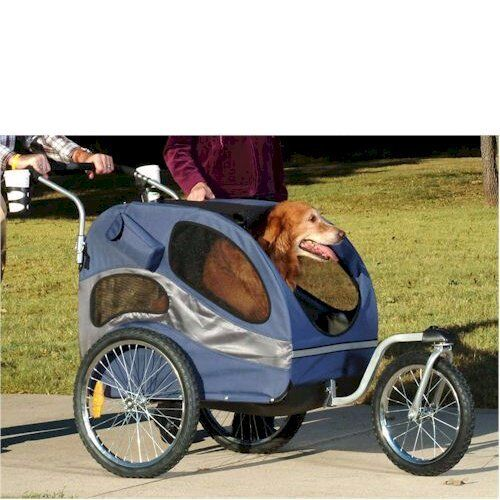 houndabout ii medium or large pet dog stroller and bicycle. Black Bedroom Furniture Sets. Home Design Ideas