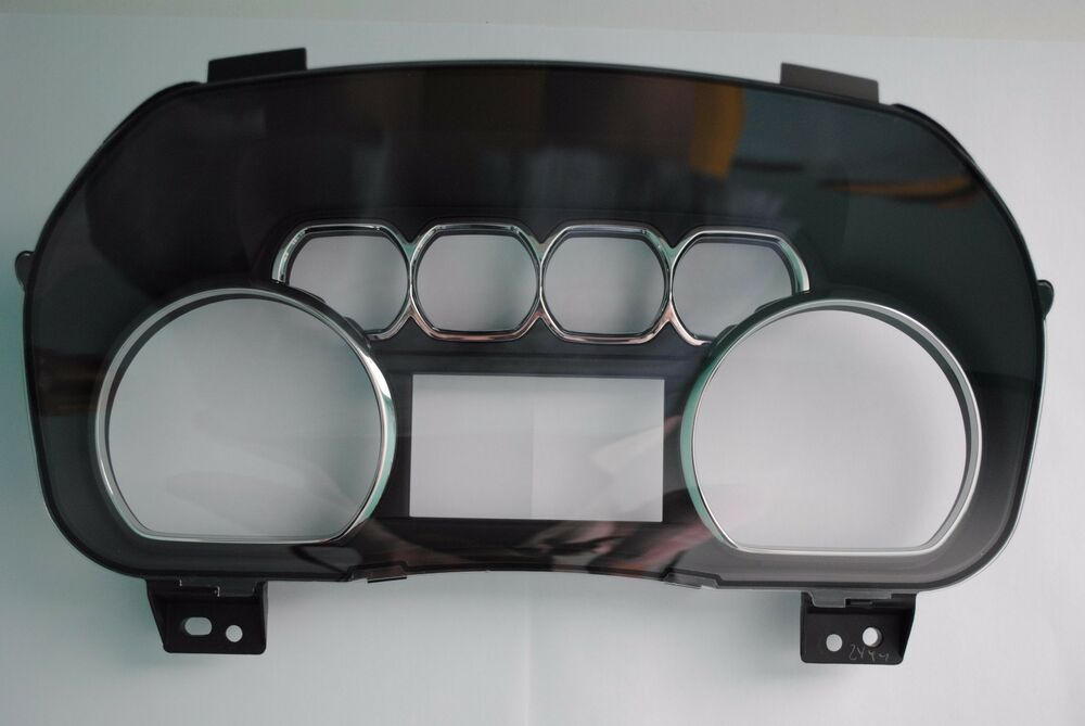 Used 2015 Tahoe >> 2014 2015 GM Truck and SUV Instrument Cluster Lens Without Trip Hole | eBay
