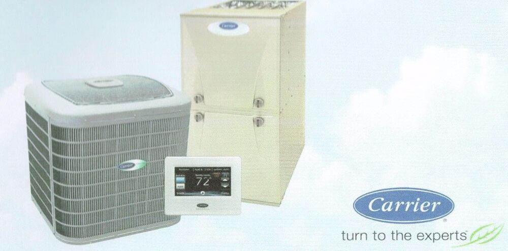 Carrier Comfort Series 13 Seer 2 Ton R410 A C System