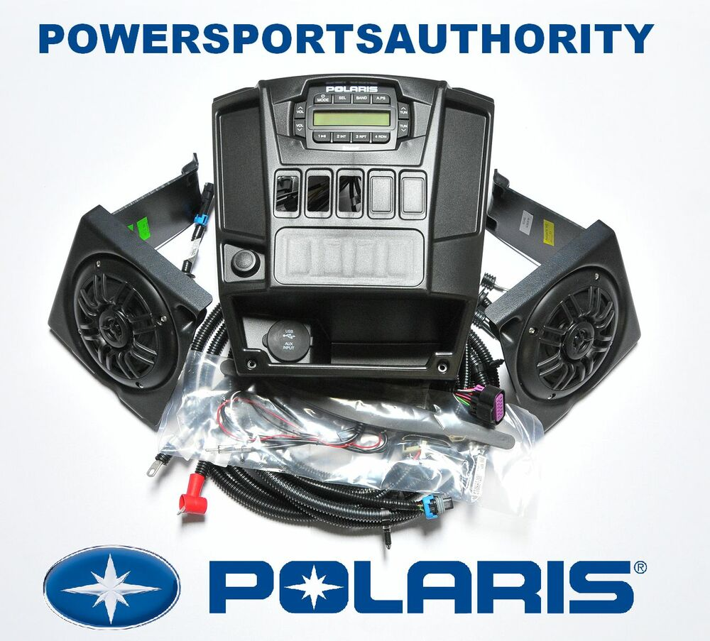 2014 2017 polaris ranger xp 900 oem dash audio stereo radio kit mp3 eps 2016 ebay