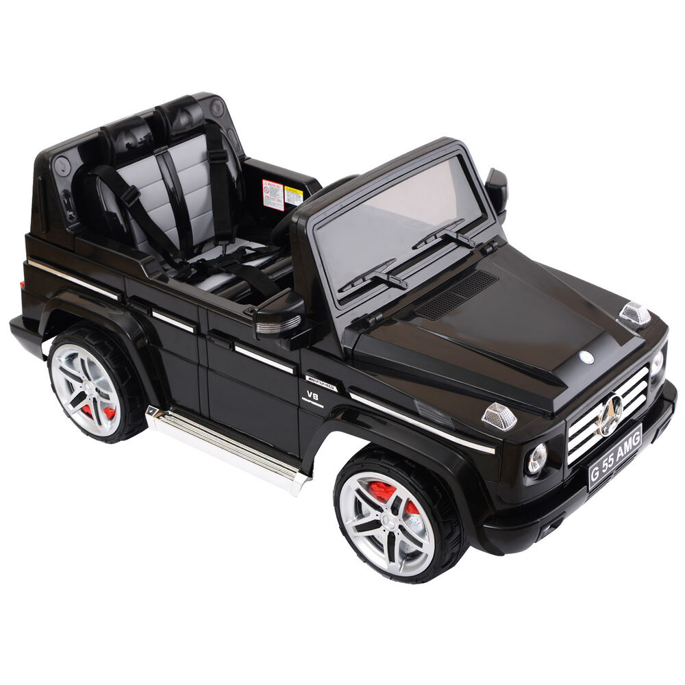 Mercedes benz g55 12v electric kids ride on car truck for Rc mercedes benz