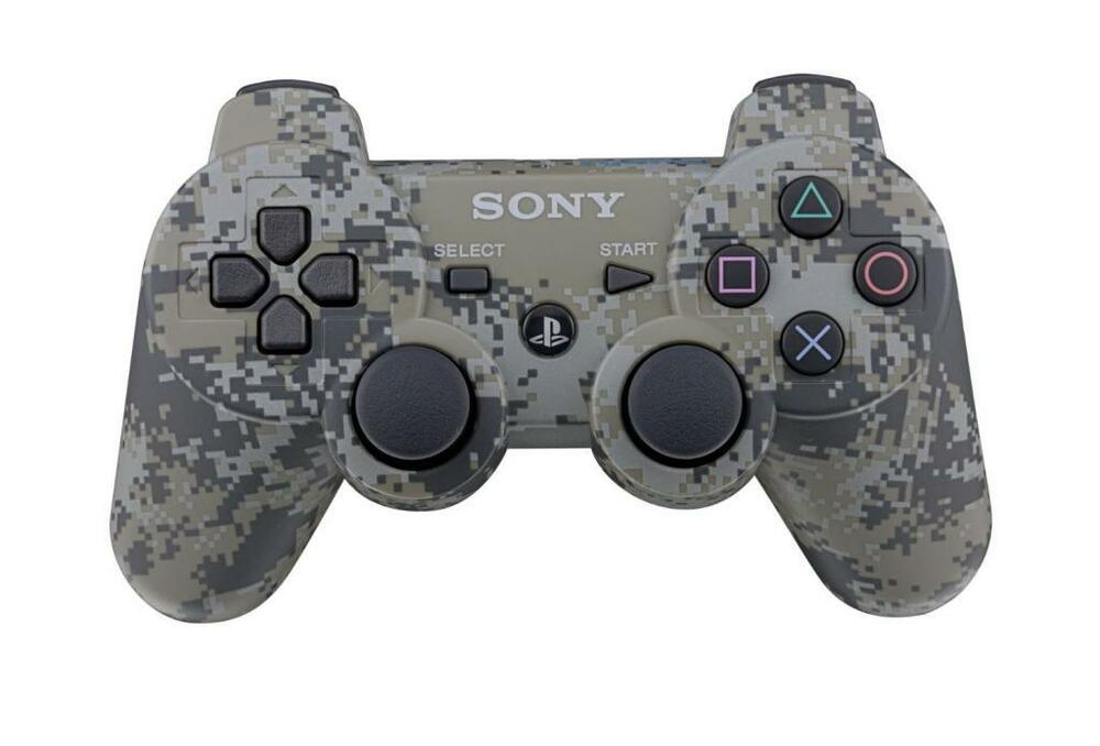 official sony ps3 playstation 3 wireless dualshock. Black Bedroom Furniture Sets. Home Design Ideas
