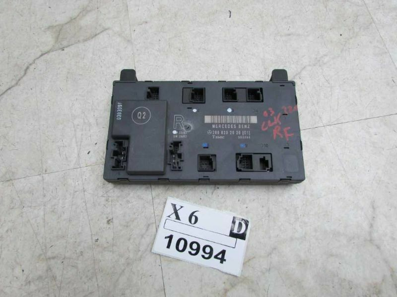2003 2004 2005 mercedes clk320 coupe right passenger side for 01333 door control module