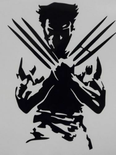 Wolverine X Men Cool Car Truck Window Vinyl Sticker Decal