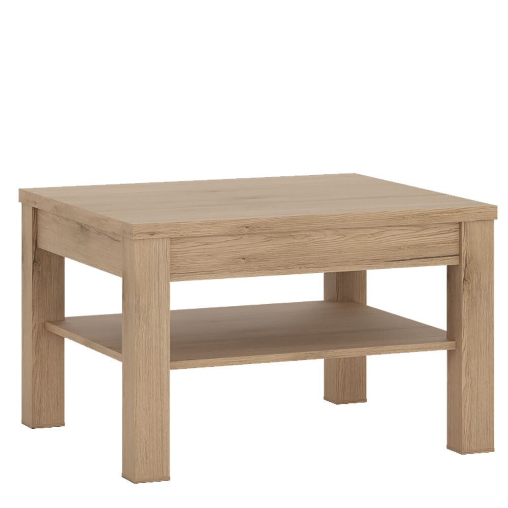 Objekt Light Oak Effect Small Square Top Coffee Table 75cm 75cm 48cm Ebay