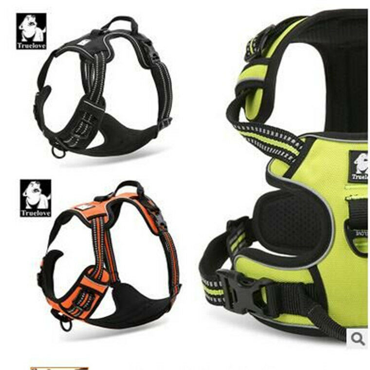 Heavy Duty Reflective Tape : Truelove dog harnesses adjustable reflective material