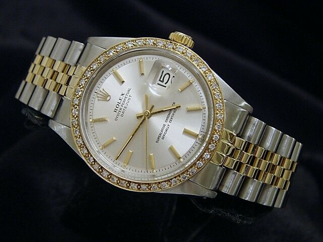 Mens Diamond Rolex Datejust