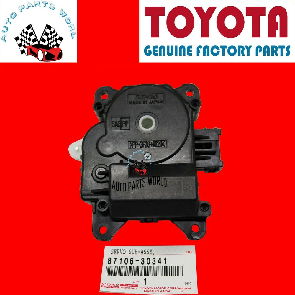 New Genuine Toyota Lexus Damper Servo Sub Assembly Air Max