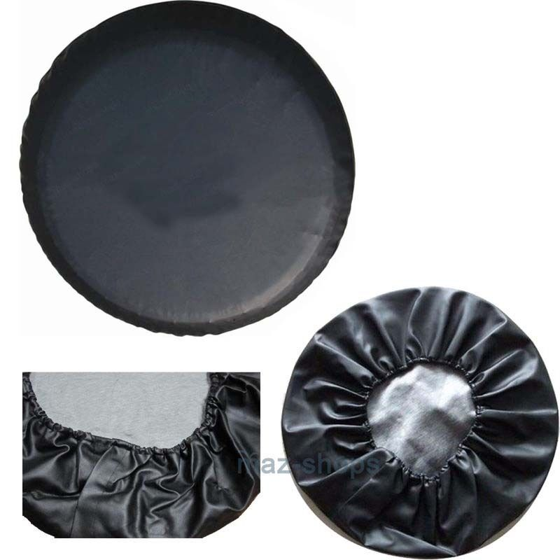 black spare tire tyre cover case protector 26 27 s for. Black Bedroom Furniture Sets. Home Design Ideas
