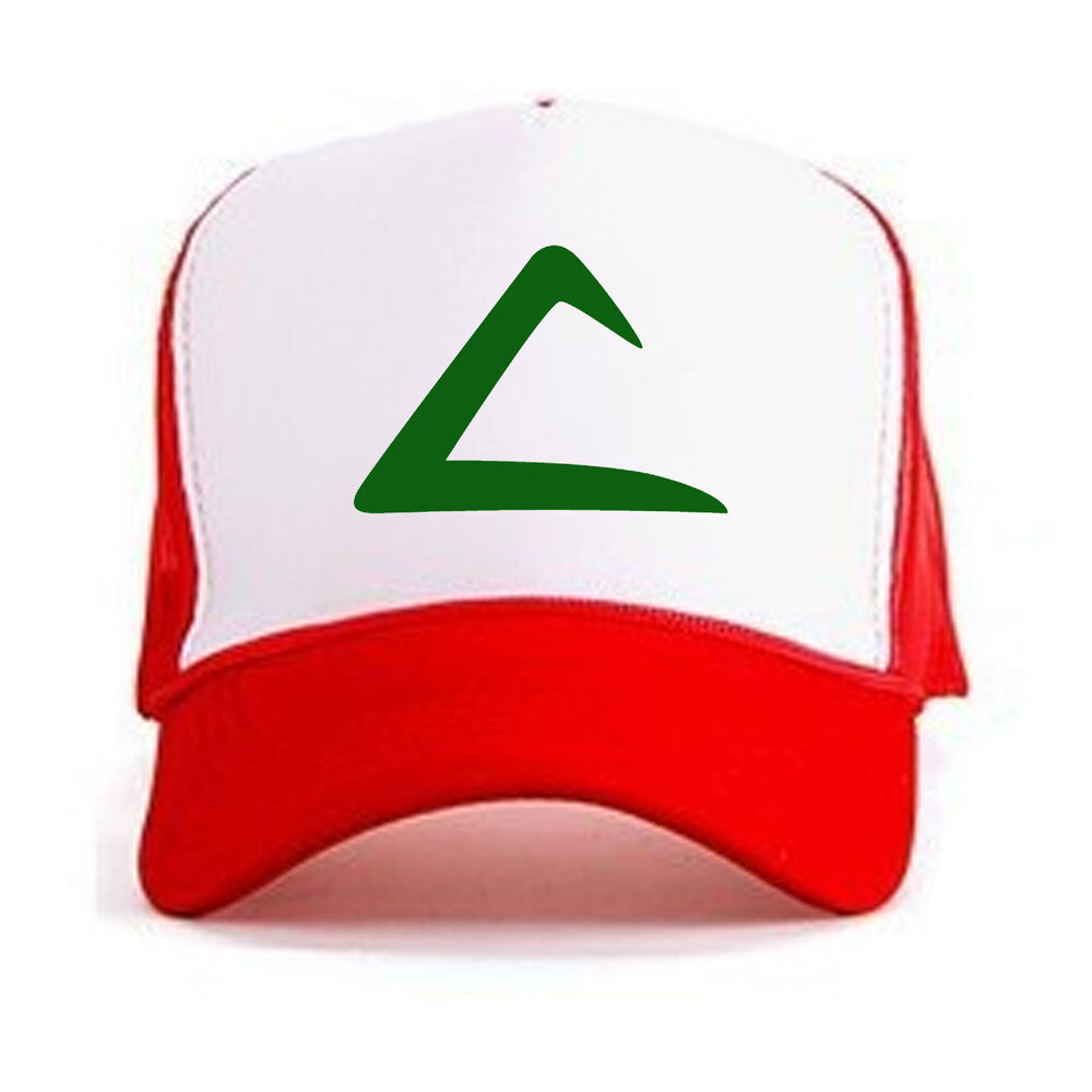 8aebed67c4900 Details about Retro POKEMON ASH KETCHUM Curved Bill Printed Hat Cap Pokemon  GO