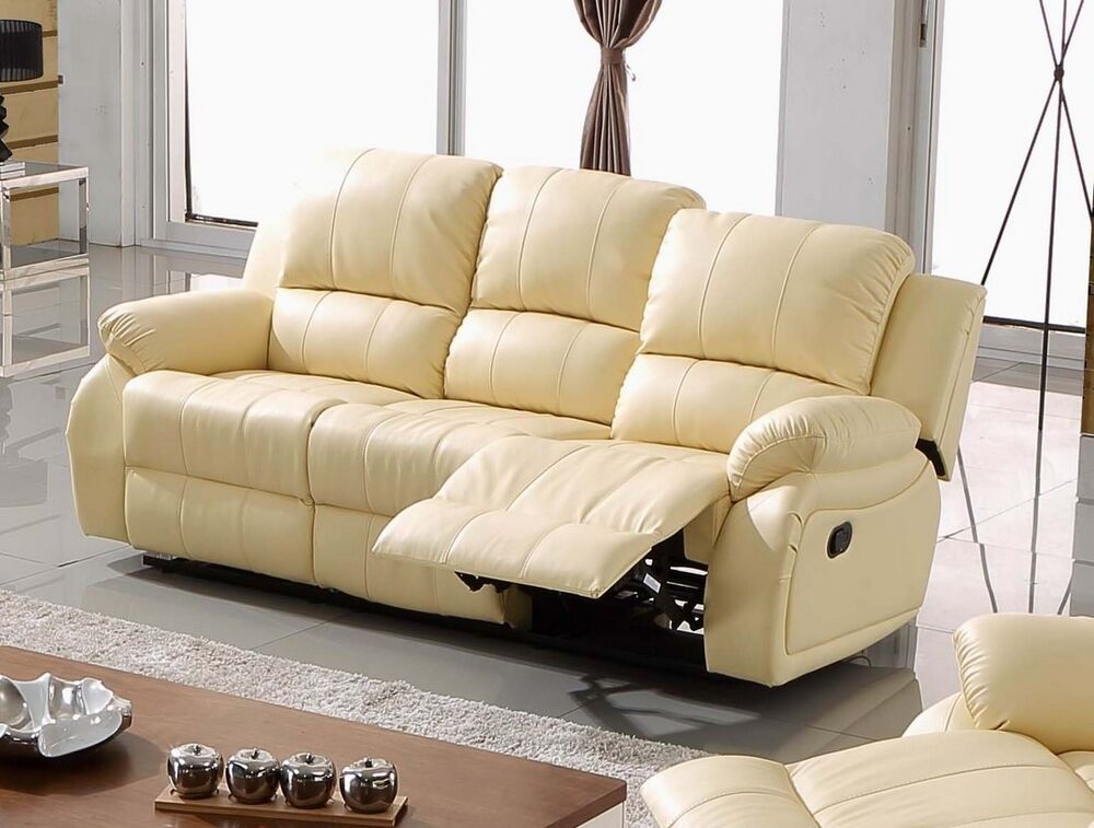 voll leder couch sofas garnitur relaxsofa fernsehsessel 5129 3 317 sofort ebay. Black Bedroom Furniture Sets. Home Design Ideas