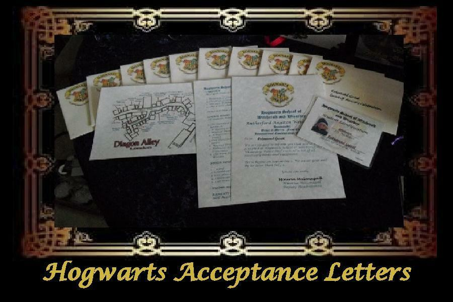 how to write a hogwarts acceptance letter