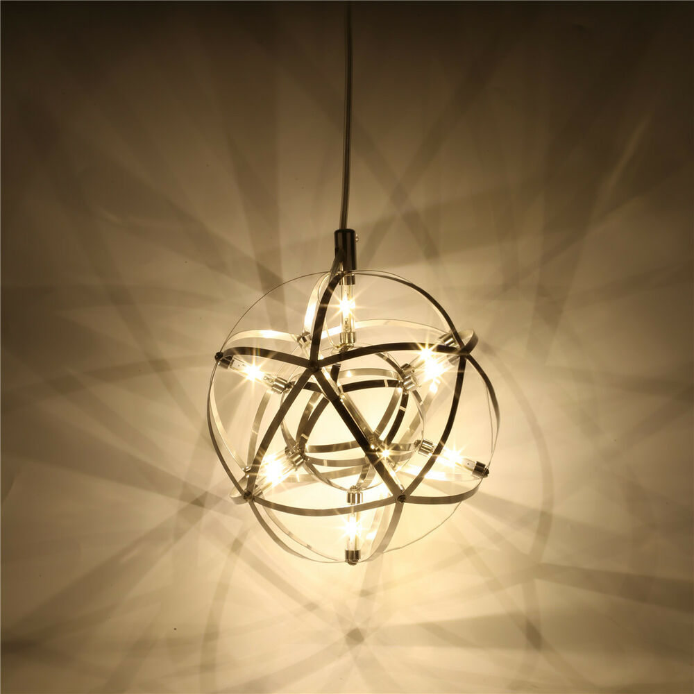 Modern 12W LED Global Hanging Suspension Pendant Lamp
