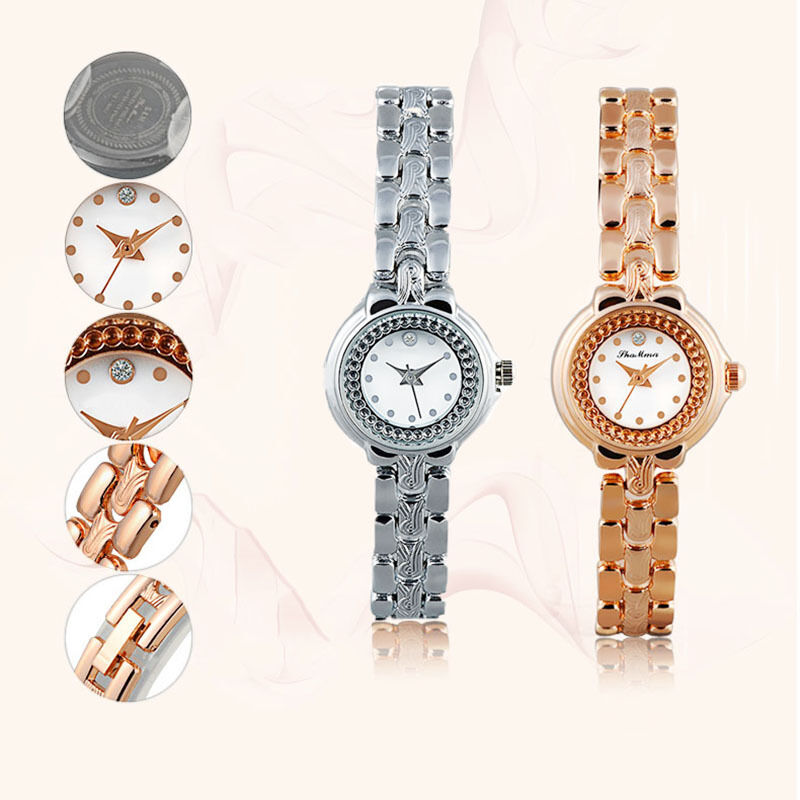 fashion steel watches antique quartz