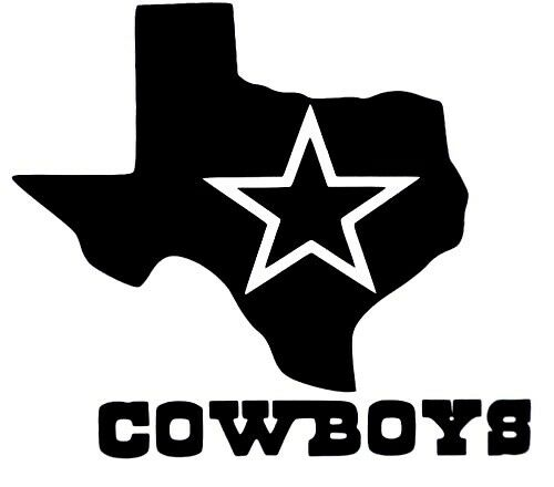 Dallas Cowboys Star Texas Logo Football Car Truck Vinyl
