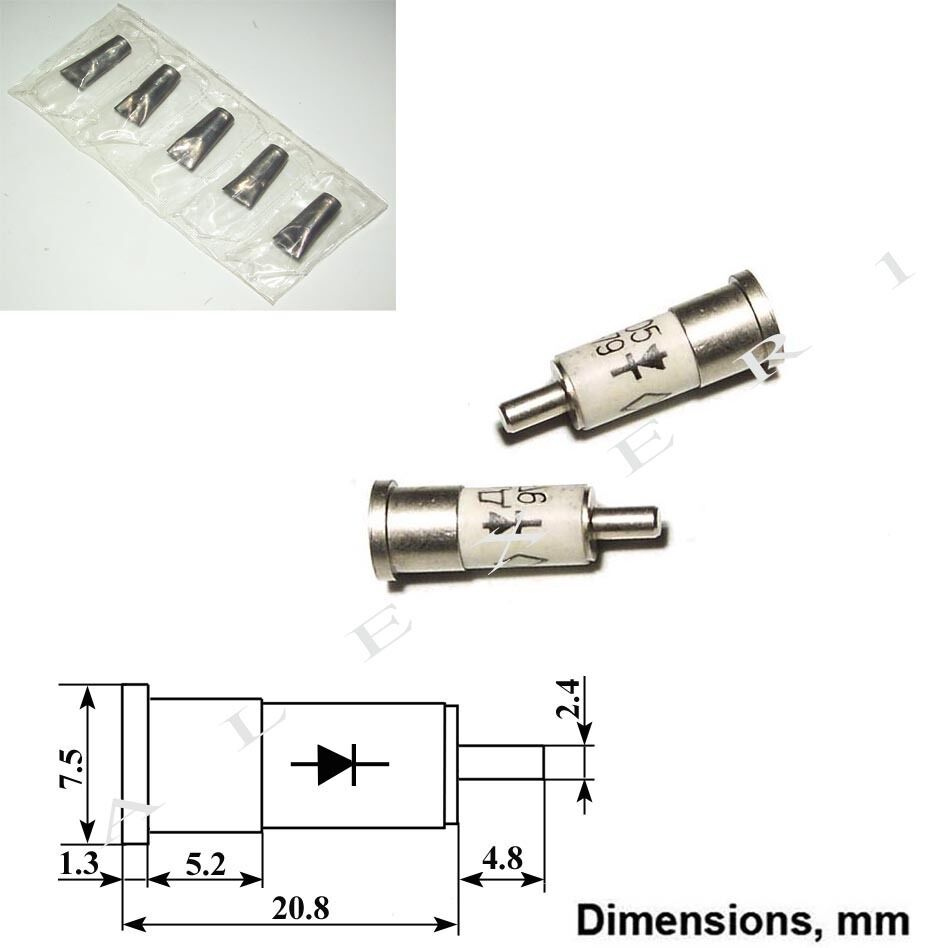 4x D603 Microwave Si Detector Diode 5ghz Ebay