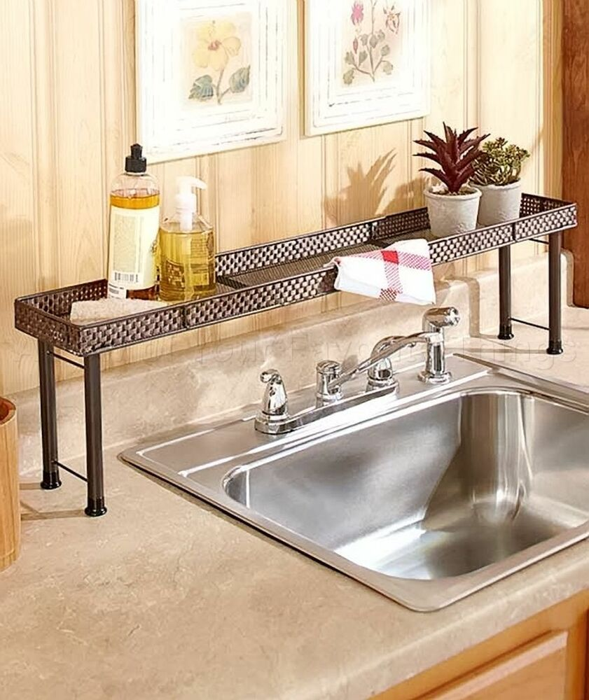 over the sink shelves bathroom the sink shelf kitchen bathroom storage space home 23908