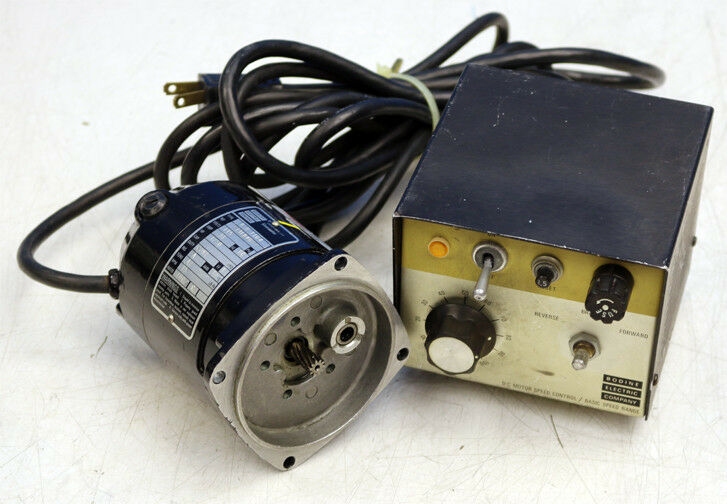 Bodine electric nsh 11d4 dc motor with bsh 200 speed for Speed controls for electric motors